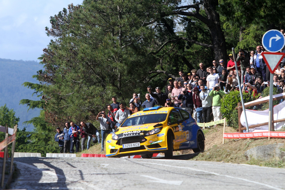 Tramo Rallye Rías Baixas